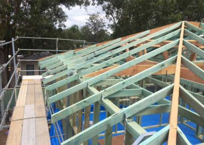 Roof Restoration - Roof Truss - Roof Frame - Roof Repair